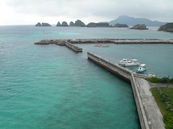 雨上がりの阿嘉島