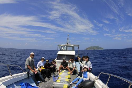 元スタッフ海老沢さん、沖縄を旅立つ!