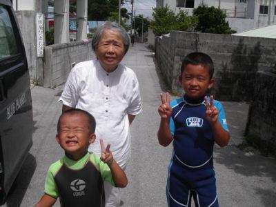 母、茨城に帰る!
