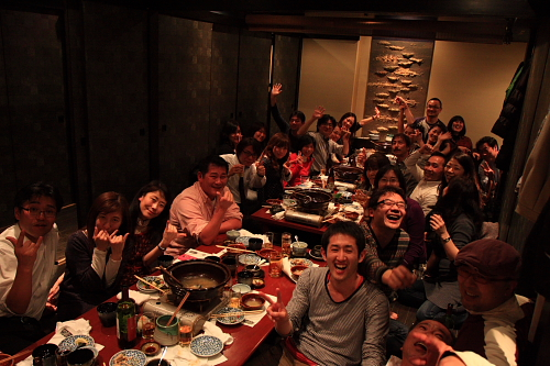 BP営業スタート!~2011BP東京宴会(有楽町)!